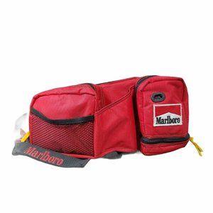 Vintage Marlboro Waist Belt Bag Fanny Pack 90s